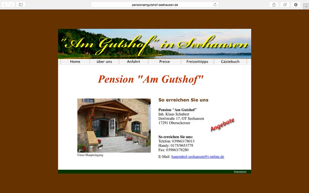 Pension am Gutshoof Seehausen